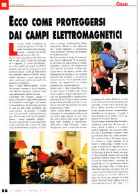 ECCO COME PROTEGGERSI DAI CAMPI ELETTROMAGNETICI